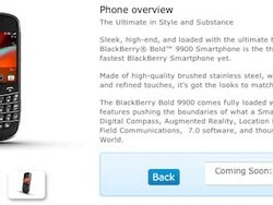 BlackBerry Bold 9900 coming to O2 UK in August