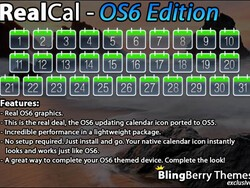 Contest: RealCal - the updating calendar icon app. Win 1 of 50 copies!