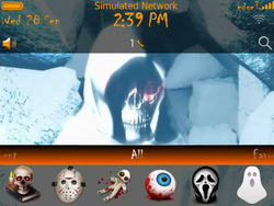 Contest: Enter to win a free copy of Animated Halloween Reaper theme by BBMagic