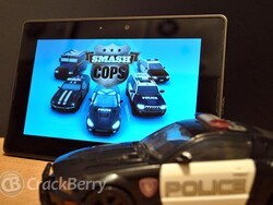 Smash Cops brings hot pursuit to the BlackBerry PlayBook