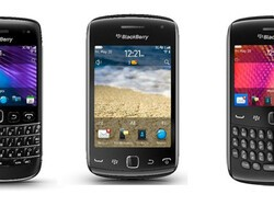 Three BlackBerry 7 Smartphones arriving in India