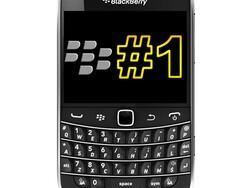 BlackBerry is UK's top smartphone - yet again