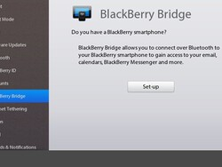 Setting Up and Using BlackBerry Bridge on BlackBerry PlayBook 2.0