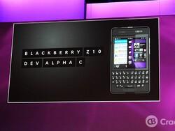 BlackBerry 10 Dev Alpha C shown off at BlackBerry Jam Europe