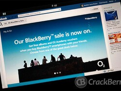 Get in on the O2 UK BlackBerry sale and get some free music albums and vouchers too