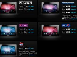 BlackBerry PlayBook price drop in the UK - again