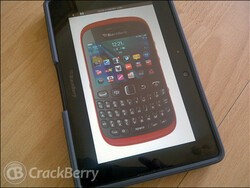 BlackBerry Curve 9320 in red coming soon to O2 UK