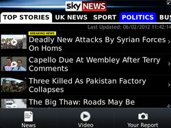 Get your daily news fix with the Sky News app