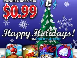 Concrete Software drops pricing of their BlackBerry games to just $0.99