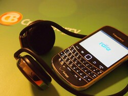 How I use my BlackBerry to keep motivated while getting in better shape