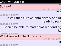 Peep It beta allows you to read those BBM messages without letting anyone know