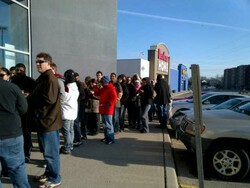 PlayBook discounting leads to long lines, were you in one of them?