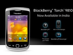 BlackBerry Torch 9810 launched in India