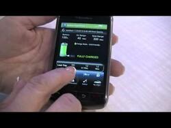 CES 2010: BlackBerry On Star Mobile App for the Chevrolet Volt Walk Through