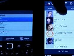 Head to Head: Google+ on BlackBerry vs. Google+ on Android