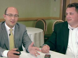 AT&T and RIM discuss their collaboration on the new BlackBerry Torch 9800