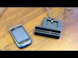 Quick Review: Mobi Products cradle with spare battery slot for the BlackBerry Torch 9800