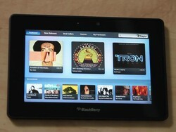 7digital Music Store and BlackBerry Podcasts apps get shown off on BlackBerry PlayBook