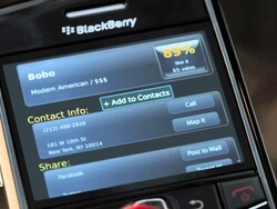 Urbanspoon debuts as next BlackBerry App World commercial