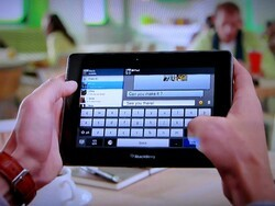 New BlackBerry PlayBook commercial talks BlackBerry Bridge and sports a video chat cameo