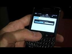 CES 2010: BlackBerry Presenter Live Demo