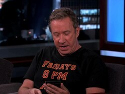 Tim Allen rocking the Passport on TV