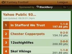 Yahoo! Fantasy Football '09 A to Z