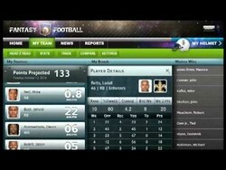 Fantasy Football app for the BlackBerry PlayBook gets shown off