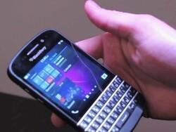 BlackBerry Q10 walkthrough with Jeff Gadway [video]
