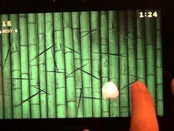 Test your mad ninja skillz with Fruits & Ninja for the BlackBerry PlayBook