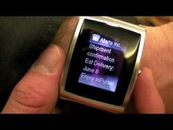 WES 2010: inPulse Smartwatch for BlackBerry Video Demo