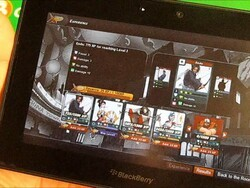 Card-based battles without the cards with Urban Rivals for the BlackBerry PlayBook