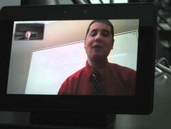 OS 2 Launch Day Video Chat Interview w/ BlackBerry PlayBook Product Manager Michael Clewley