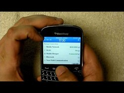 Quick Look at Mobile Hotspot on BlackBerry OS 7.1