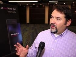 Gregg Ostrowski talks a bit about the BlackBerry 10 Jam World Tour Enterprise Edition [video]