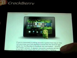 Quick Look: Android App Player on the BlackBerry PlayBook