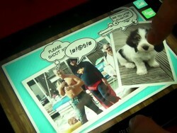 BlackBerry PlayBook 'Scrapbook' App Demo made by TAT