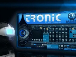 Tronic theme from  WJD Designs - 25 copies to be won!