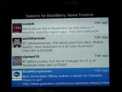 Ultimate Twitter Client Roundup Part 2: Seesmic for BlackBerry Smartphones