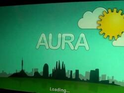 BlackBerry PlayBook WebWorks Aura Weather App demo built by TAT gets shown off