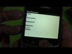 BlackBerry 101: Using the Native BlackBerry Password Keeper Application to Store Account Information