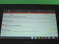 Hands on with the CrackBerry Forums app for the BlackBerry PlayBook