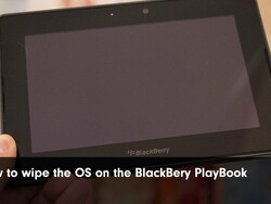 How to Wipe the OS on a BlackBerry PlayBook