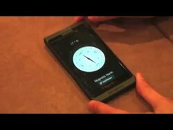 A quick look at the BlackBerry 10 clock and compass