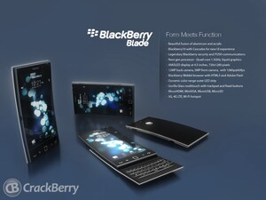 BlackBerry Blade: a BlackBerry 10 phone that's too hot to be true!