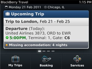 Press Release: RIM Announces BlackBerry Travel App - Download it Today for Free!