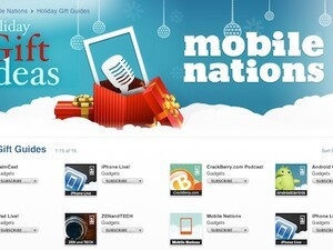 Mobile Nations new iTunes page, Mobile Nations Enterprise launches tomorrow!