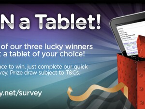 Win a free tablet or smartphone of your choice with SwiftKey and Mobile Nations!