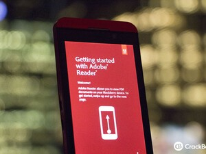 Adobe Reader update for BlackBerry 10 brings enhanced PDF mobile form support
