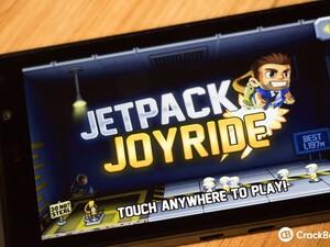 Halfbrick Studios adds BlackBerry 10 support to Jetpack Joyride